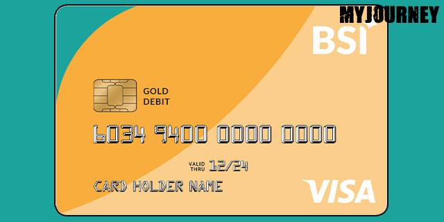 Kartu ATM BSI VISA Gold
