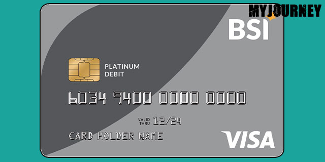 Kartu ATM BSI VISA Platinum