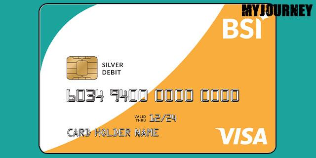 Kartu ATM BSI VISA Silver