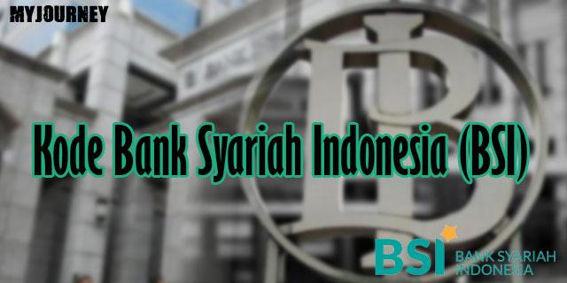 Kode Bank Syariah Indonesia