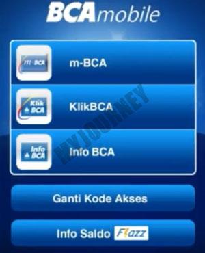 Masuk ke Aplikasi Mobile Banking BCA