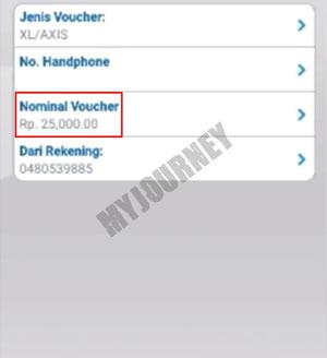 Pilih Nominal Voucher