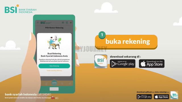 Buka Aplikasi BSI Mobile 5