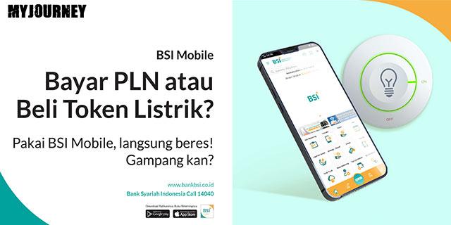 Cara Beli Token Listrik Lewat BSI Mobile