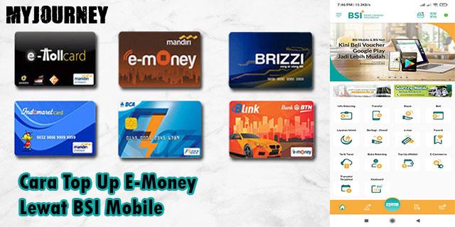 Cara Top Up E Money Lewat BSI Mobile