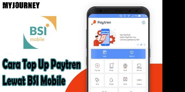 Cara Top Up Paytren Lewat BSI Mobile