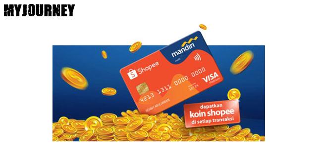 Fitur Mandiri Kartu Kredit Shopee