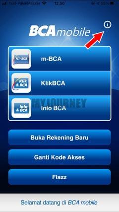 Masuk ke Aplikasi BCA Mobile