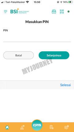Masukkan PIN Transaksi 21