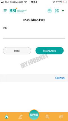 Masukkan PIN Transaksi 24