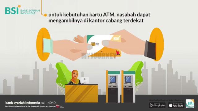 Pengambilan Buku Tabungan dan Kartu ATM