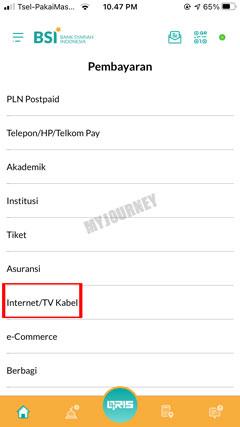 Pilih Internet TV Kabel 1