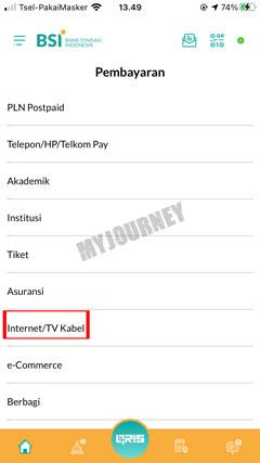 Pilih Internet TV Kabel 5