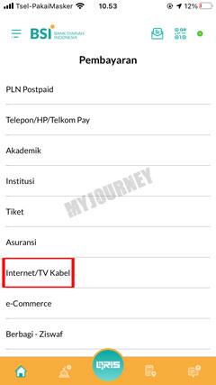 Pilih Internet TV Kabel 6