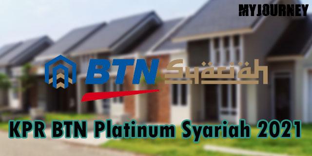 KPR BTN Platinum Syariah 2021