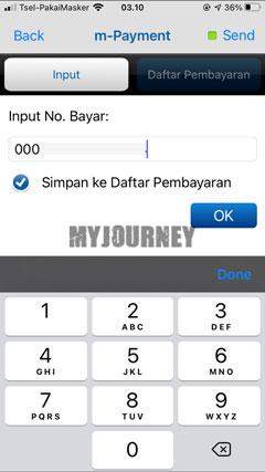 Masukkan Nomor Pembayaran