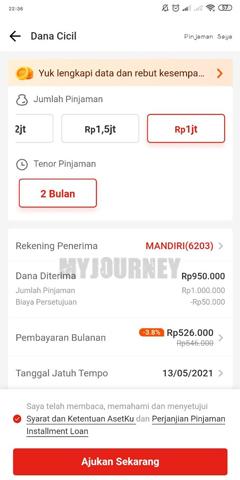 Pilih Pinjaman