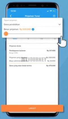Pilih Tujuan Pinjaman