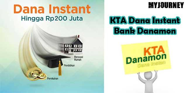 KTA Dana Instant Bank Danamon