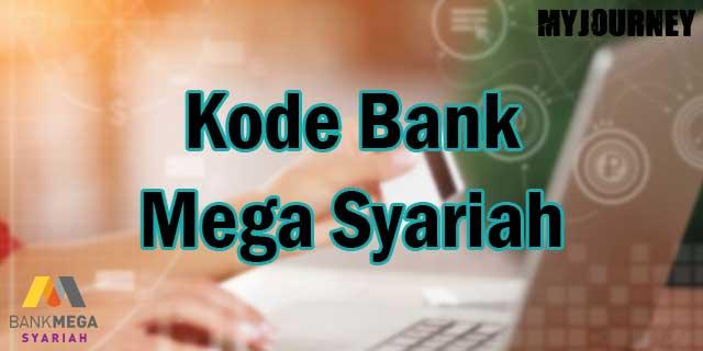 Kode Bank Mega Syariah