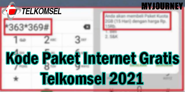 Kode Paket Internet Gratis Telkomsel 2021