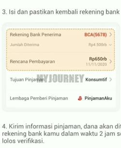 Masukkan Rekening Bank Penerima