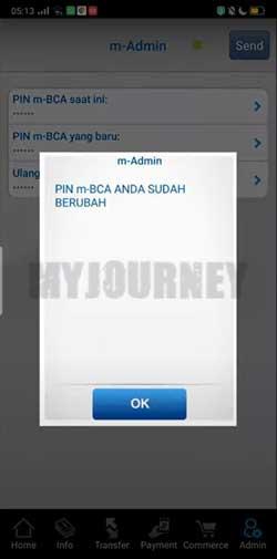 PIN m BCA Telah Berubah