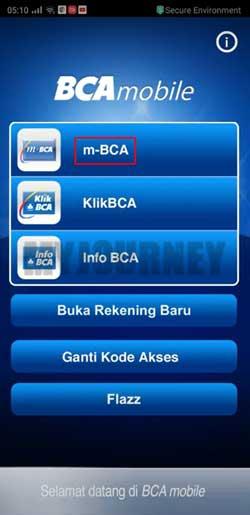 Tap m BCA