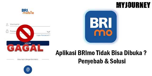 Aplikasi BRImo Tidak Bisa Dibuka