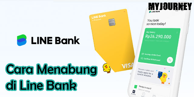 Cara Menabung di Line Bank