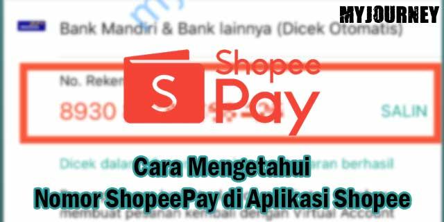 Cara Mengetahui Nomor ShopeePay