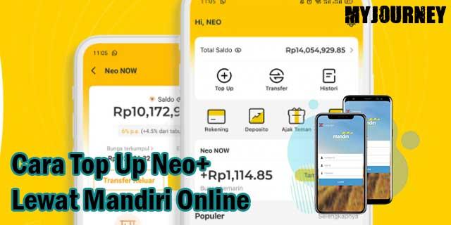 Cara Top Up Neo Lewat Mandiri Online