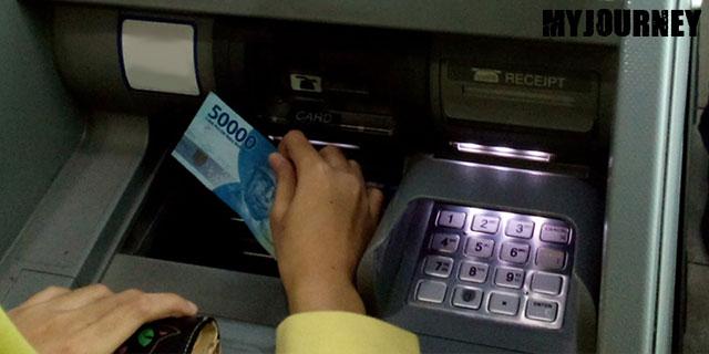 Menabung di ATM Setor Tunai