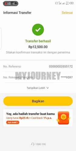 Transfer Berhasil 1