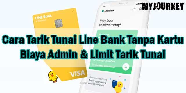 Cara Tarik Tunai Line Bank Tanpa Kartu