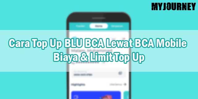 Cara Top Up BLU BCA Lewat BCA Mobile