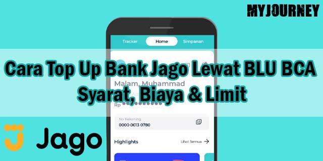 Cara Top Up Bank Jago Lewat BLU BCA