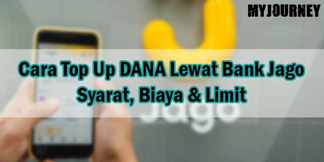 Cara Top Up DANA Lewat Bank Jago