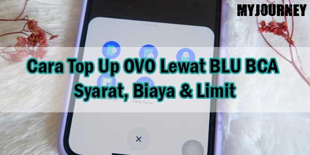 Cara Top Up OVO Lewat BLU BCA