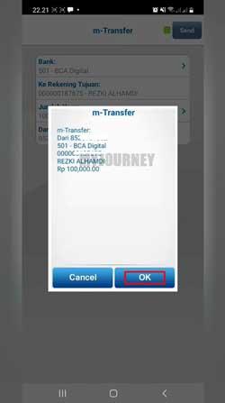Konfirmasi Transfer