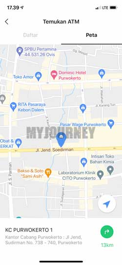 Pilih Lokasi ATM Terdekat