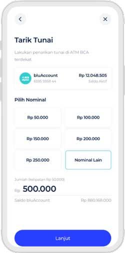 Pilih Nominal Transaksi
