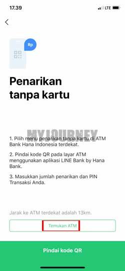 Tap Temukan ATM