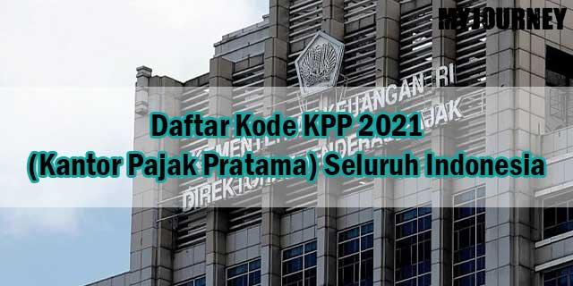 Daftar Kode KPP 2021