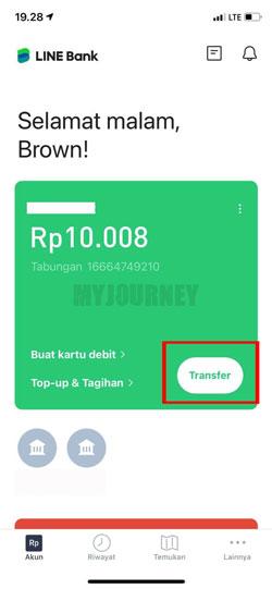 Masuk Aplikasi Line Bank 1