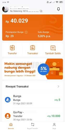 Masuk ke Aplikasi SeaBank