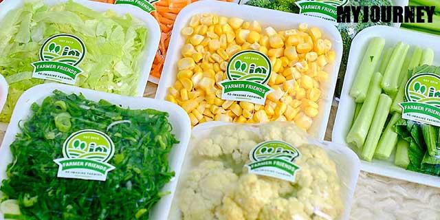 Packing Sayuran dengan Baik