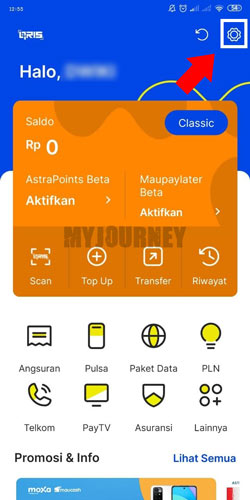 Buka Aplikasi AstraPay 3