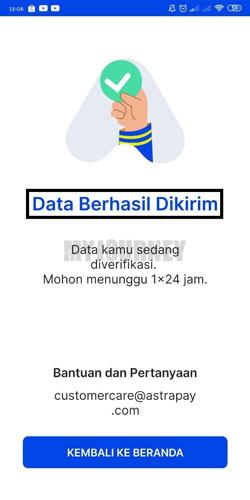 Data Berhasil Diki