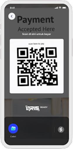 Scan QR Code di Merchant